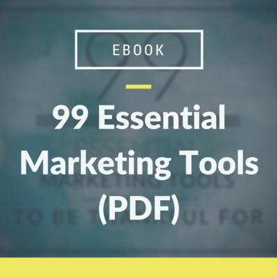 99 Essential Marketing Tools