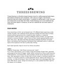 Threes Brewing: Press Info