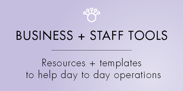 11. Business & Staff Tools