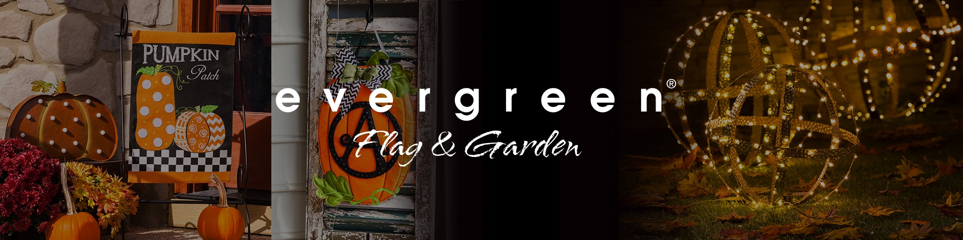 Evergreen Flag and Garden