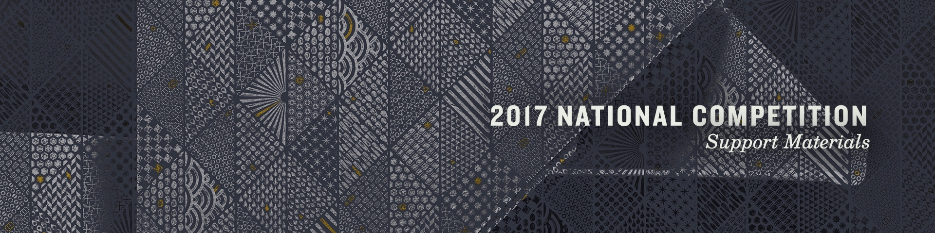 7. 2017 National Competition Support Material