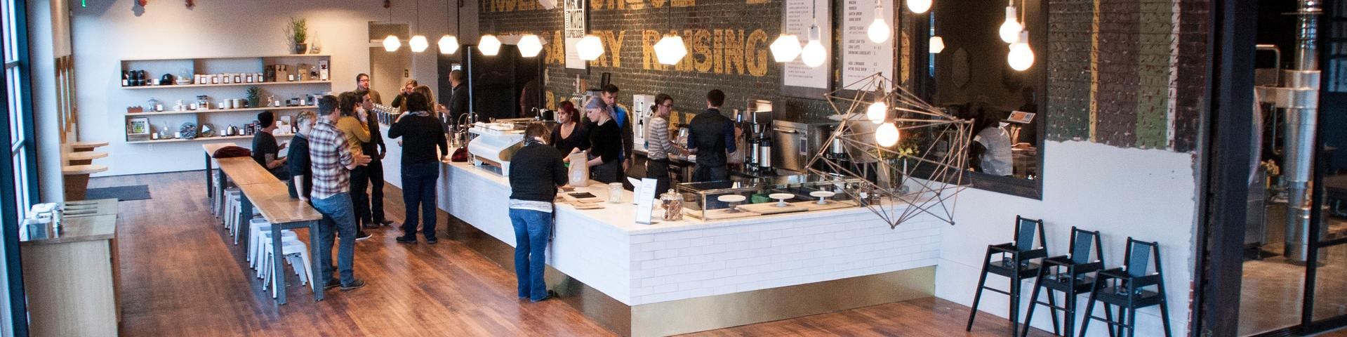 Allegro Coffee Company - Retail Design Portal