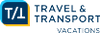 Travel and Transport Vacations Logo