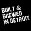 BUILT & BREWED IN DETROIT Logo