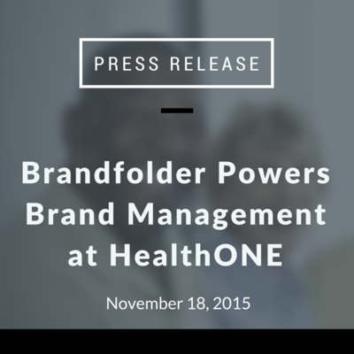 Brandfolder Powers Brand Management at HealthONE