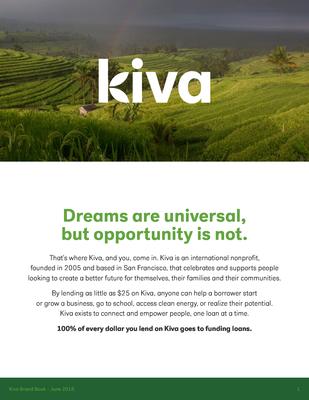 Brand book - Kiva press