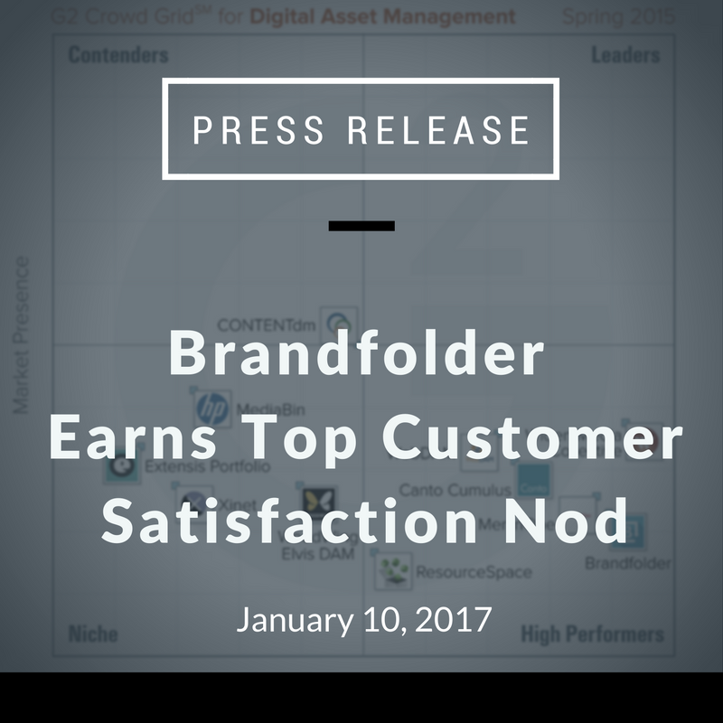 Brandfolder Earts Top Customer Satisfaction Nod