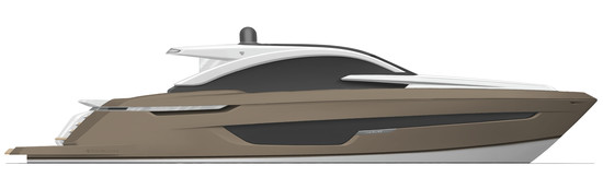 Targa 63 GT Exterior SABLE - Fairline Yachts file