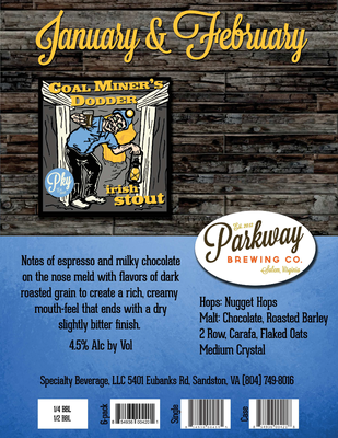 coal miners dodder specialty copy.pdf - Parkway Brewing Company file