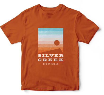 Orange Basic Tee - Silver Creek Sportswear file