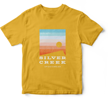 Yellow Basic Tee - Silver Creek Sportswear file