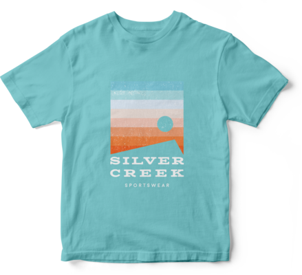 Blue Basic Tee - Silver Creek Sportswear file