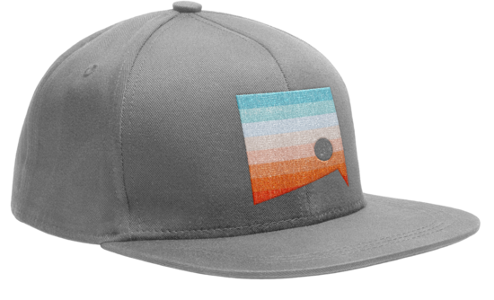 2018 Grey Trucker Hat  - Silver Creek Sportswear file