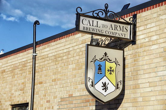FrontSignCTA.jpg - Call to Arms Brewing Company file
