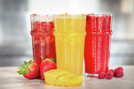 New flavored lemonades: strawberry, raspberry and pineapple - Parry's Pizzeria & Bar file