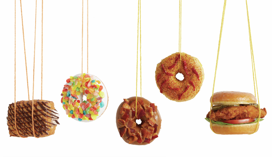 Hanging donuts - Photography file