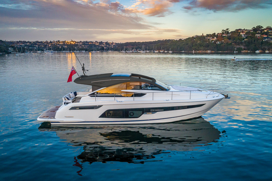 Targa 50 GT Exterior 01 - Fairline Yachts file