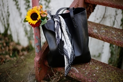 bag flowers sunflower fashion style