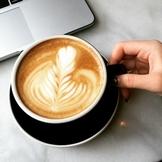 Coffee Latte Art Honeymoon