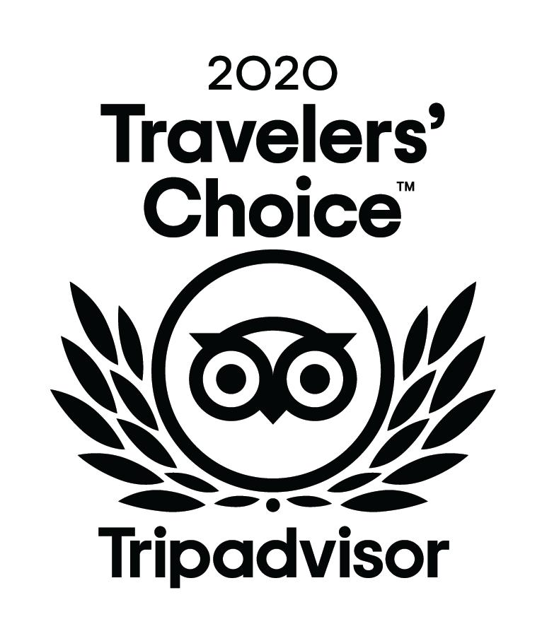 2020 Trip Advisor Travelers' Choice