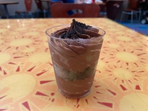 Vegan Oreo Chocolate Mousse at Epcot