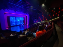 A view of the stage for Be More Chill.